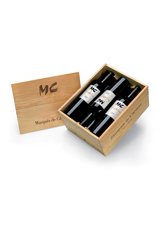 Estuche Madera MC 3 botellas